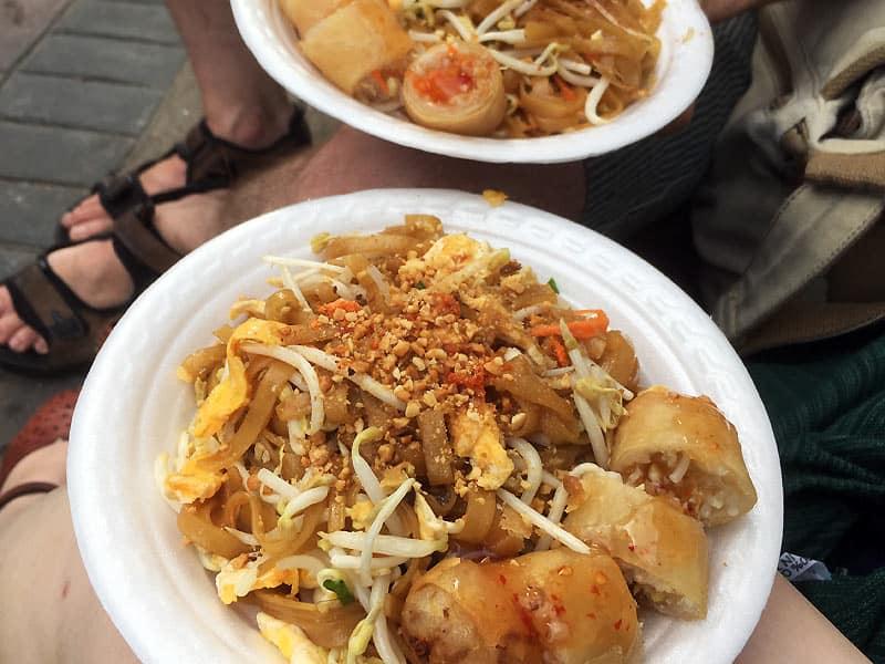 Pad Thai med æg - Globetrotters
