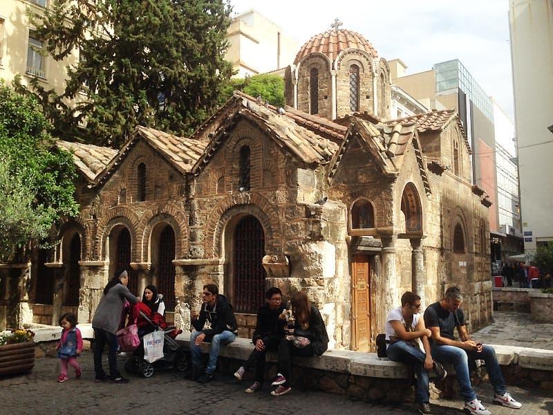 Athens Panagia Kapnikarea-kirke