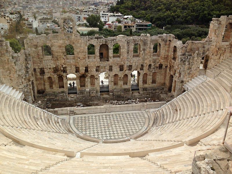 Amfiteateret i Athen.