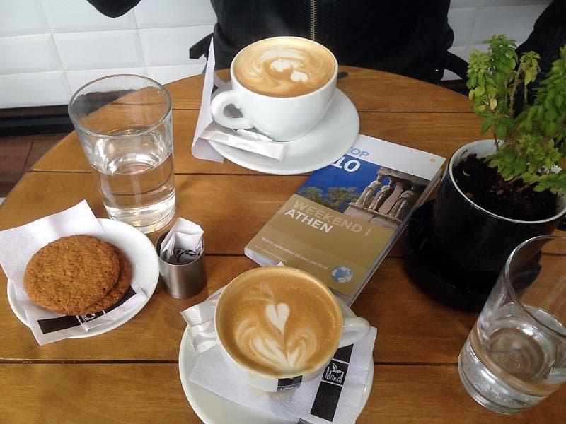Kaffe i Athen.
