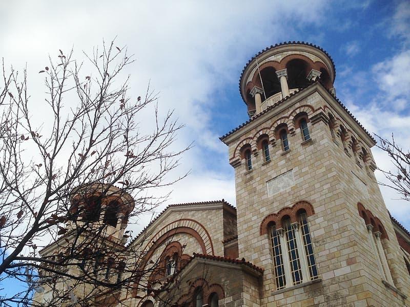Lokal kirke i Piræus i Athen.