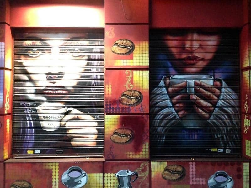 Kaffebar i Athen