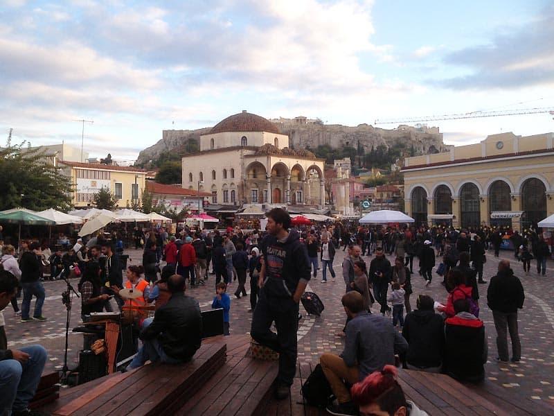 Monastiraki-pladsen