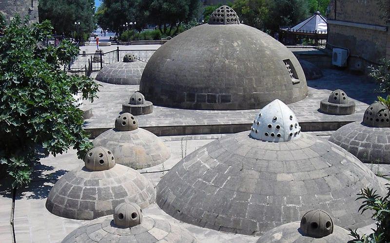 Hamamtag i Baku.