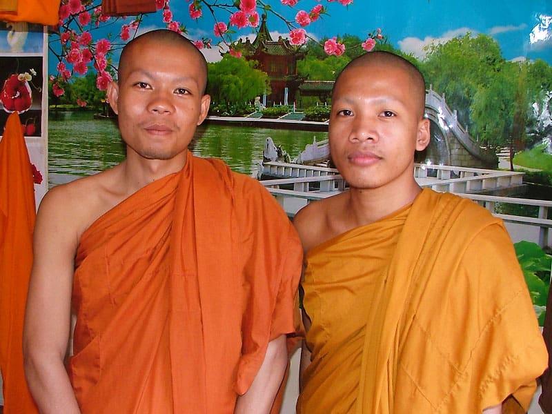 Munke i Cambodja