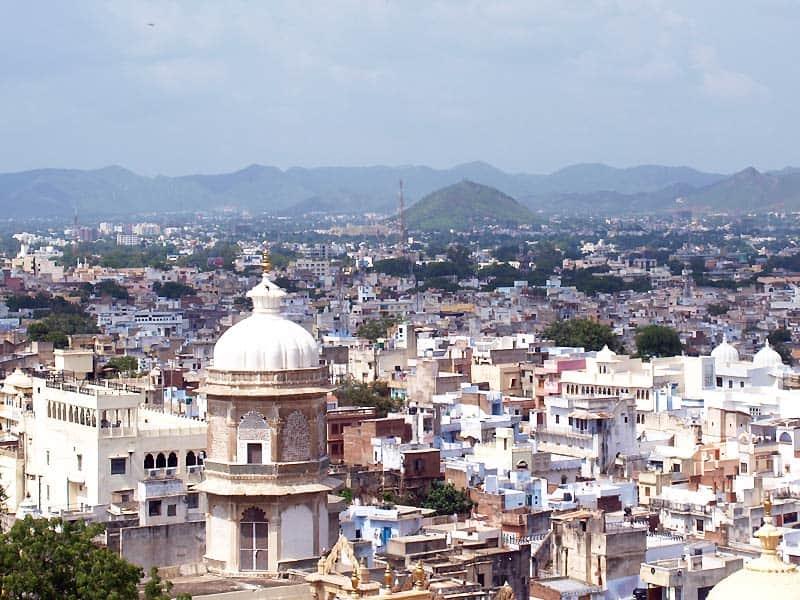 Udaipur, den hvide by