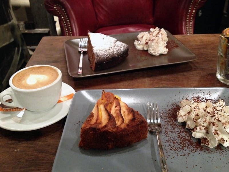 Desserter er dejlige efter mad i Firenze