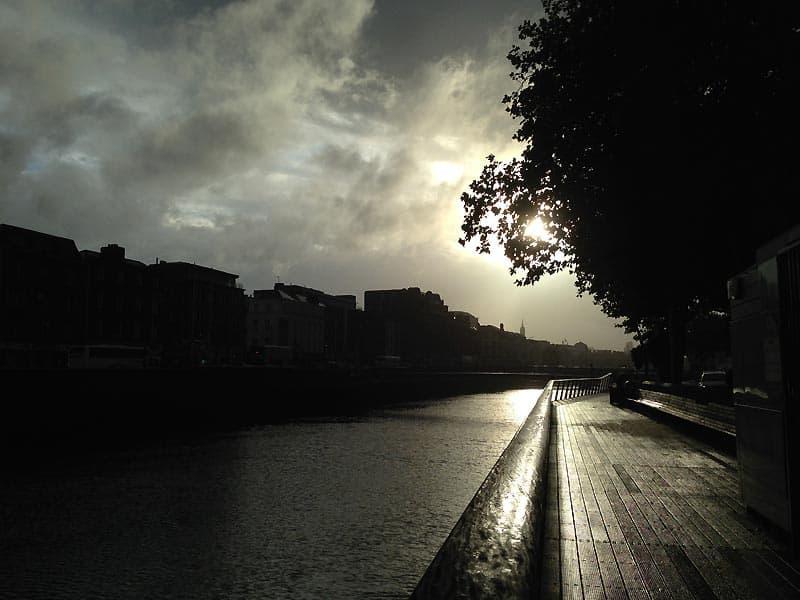 Liffey i Dublin