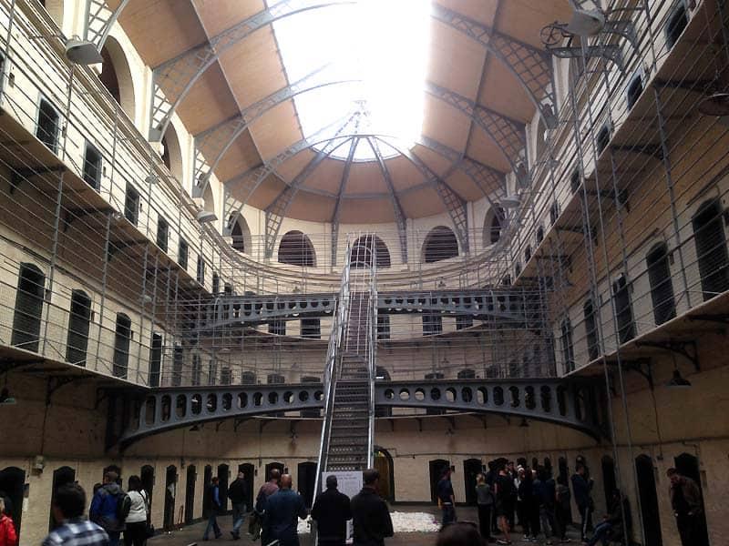 Fængslet Kilmainham Gaol i Dublin