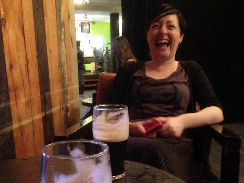 Der er sjovt på pubber i Dublin