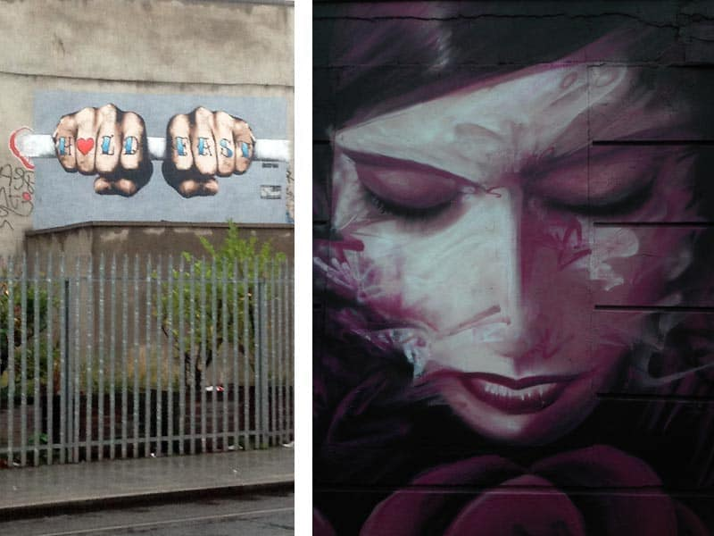 Street art i Dublin