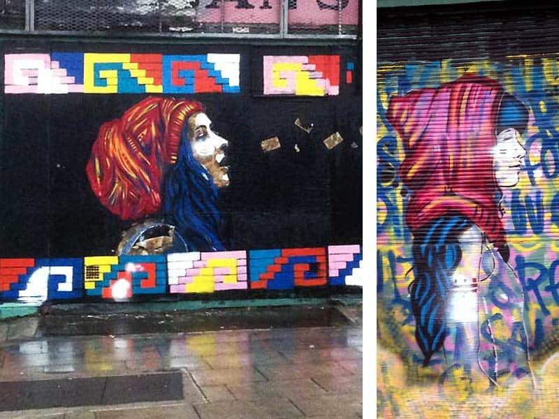 Smuk street art i Dublin