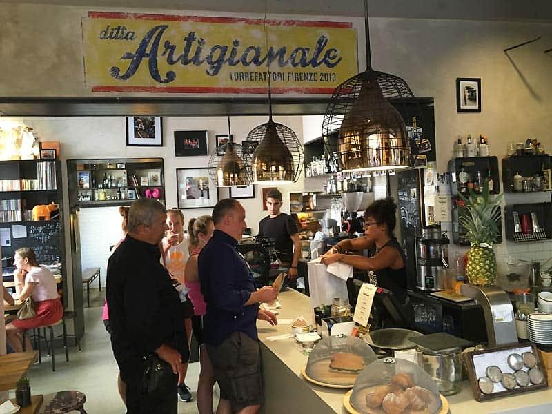 ditta Artigianale - caféer i Firenze