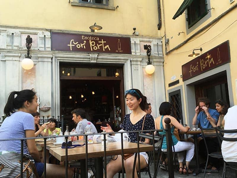 Hygge på Fiora Porta - caféer i Firenze