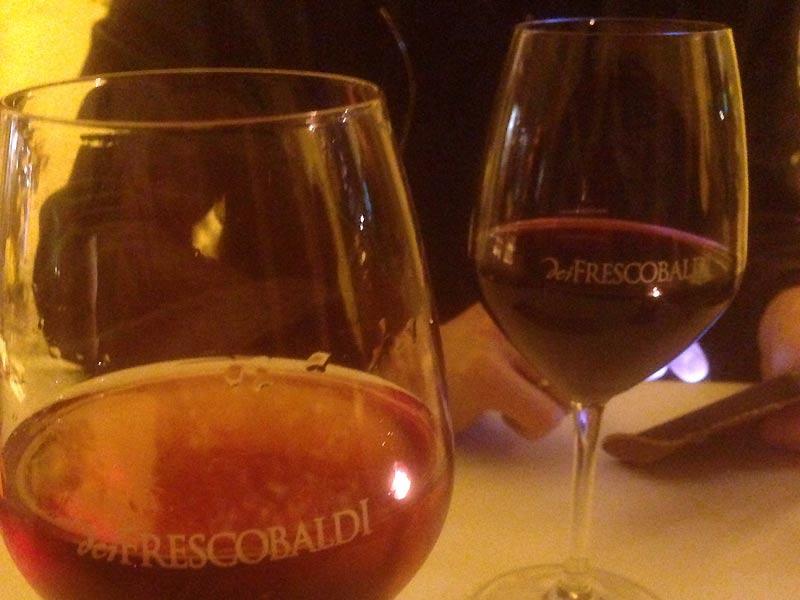 Vi på dei Frescobaldi - caféer i Firenze