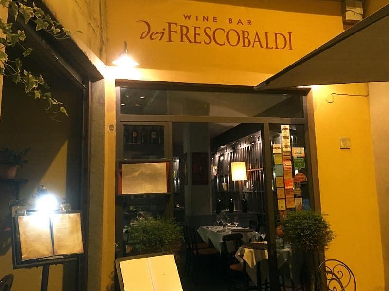 dei Frescobaldi - caféer i Firenze