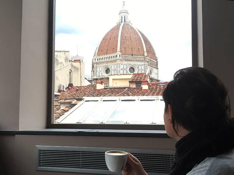 Maria på Caffetteria delle Oblate - caféer i Firenze