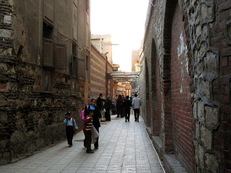 Gadestemning i koptisk Kairo - oplevelser i Kairo