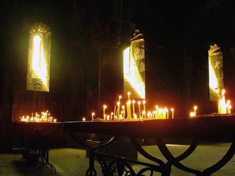 Kirkelig ceremoni i Vilnius, Litauen