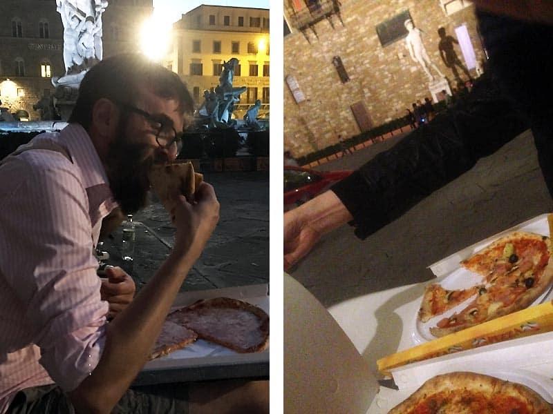 Take away mad i Firenze