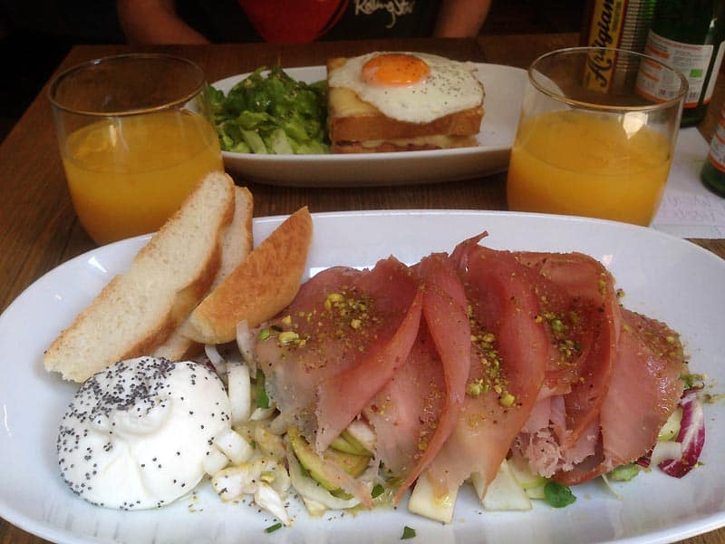 Smuk mad i Firenze
