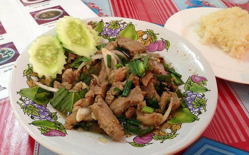 street food på Koh Tao