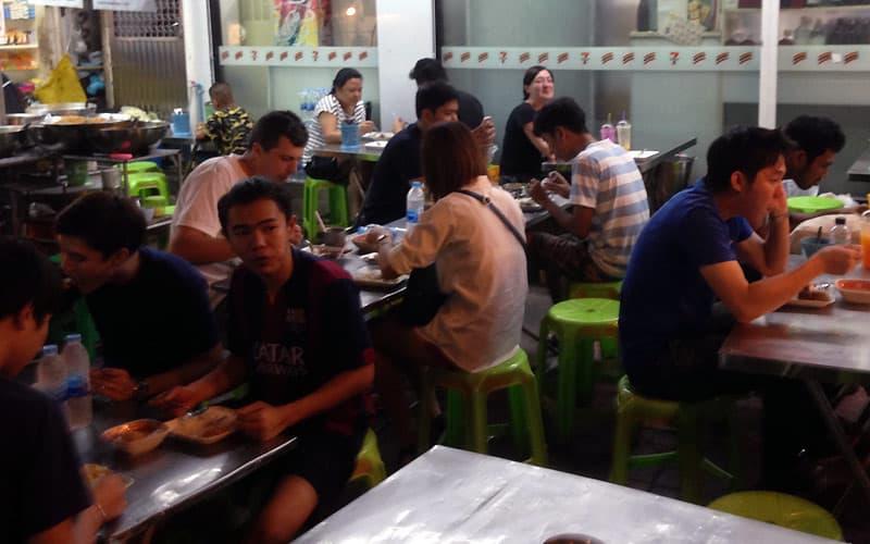 Spis lokal street food