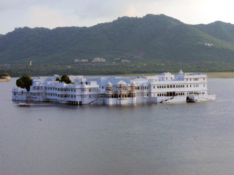 Lake Palace i Udaipur