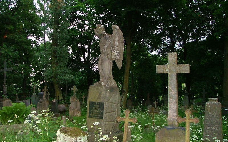 Kirkegård i Vilnius.