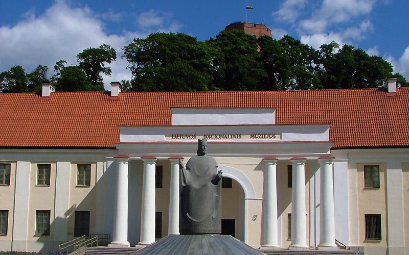 Litauens nationalmuseum i Vilnius.