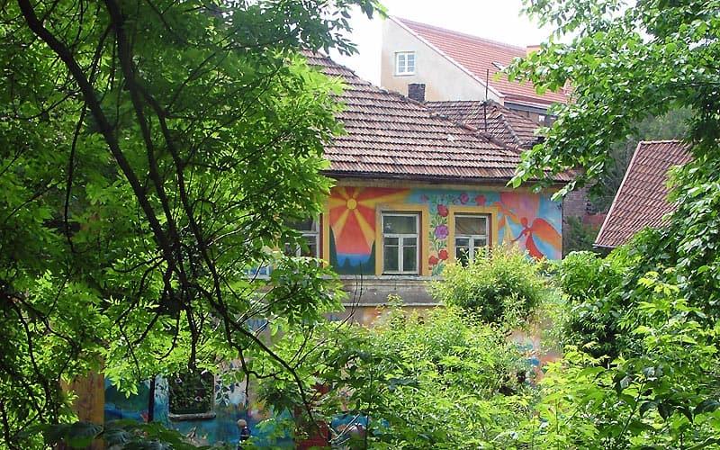 Uzupis i Vilnius