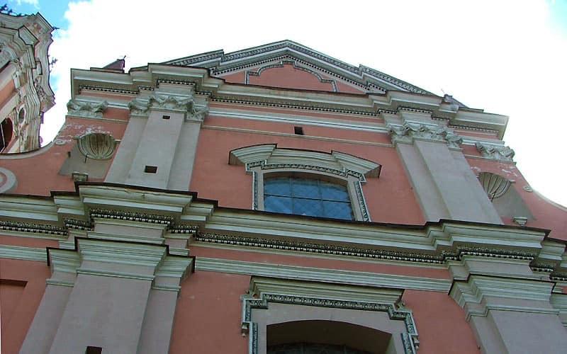Smukke huse i Vilnius