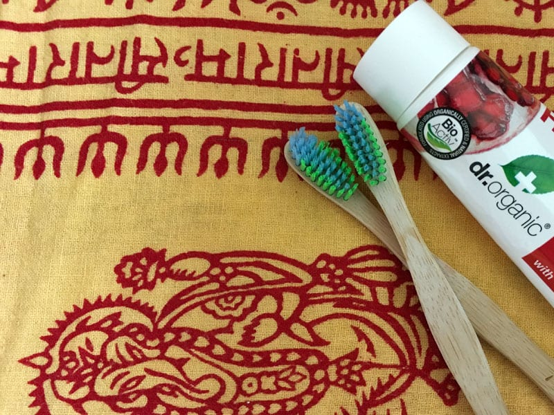 Miljøvenlige tandbørster