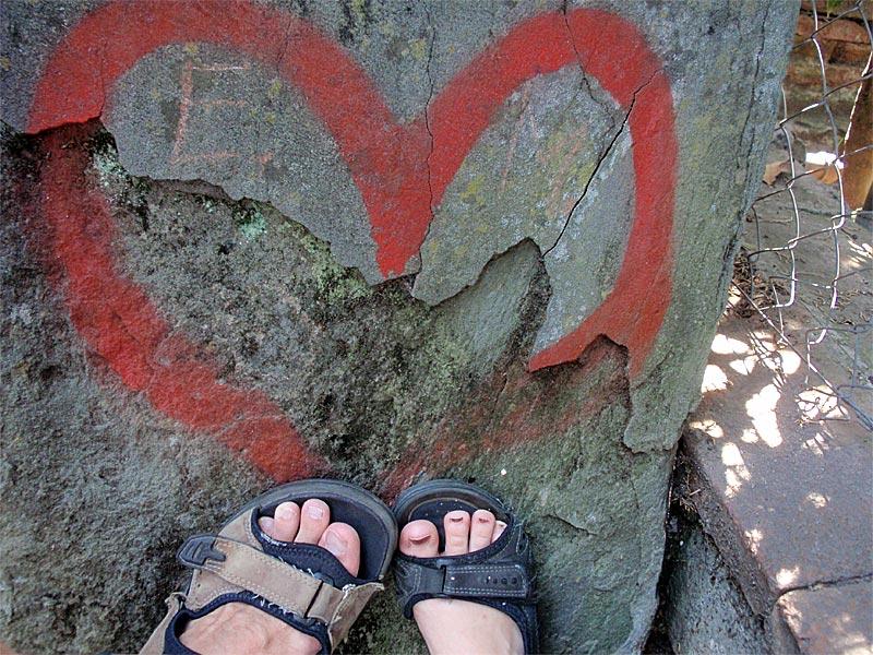 Kærlighed og fødder