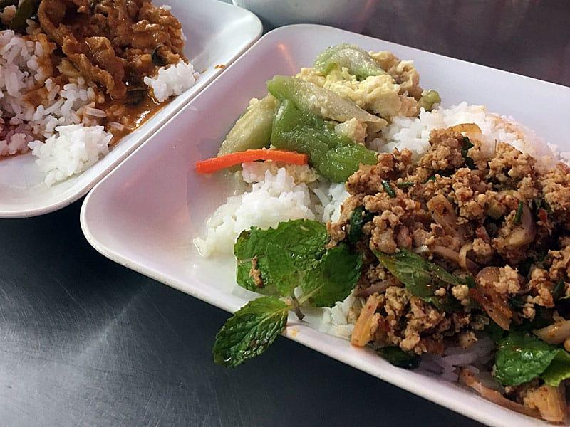 Gademad i Bangkok