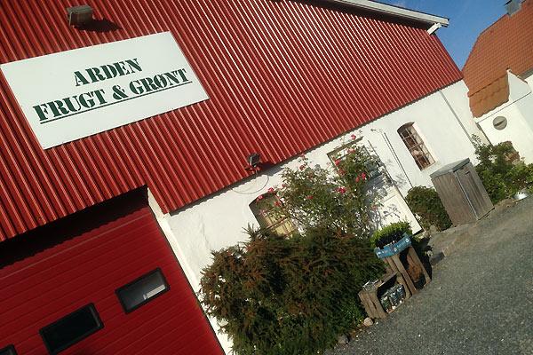 Gårdbutikken Arden Frugt og Grønt - Live from Denmark
