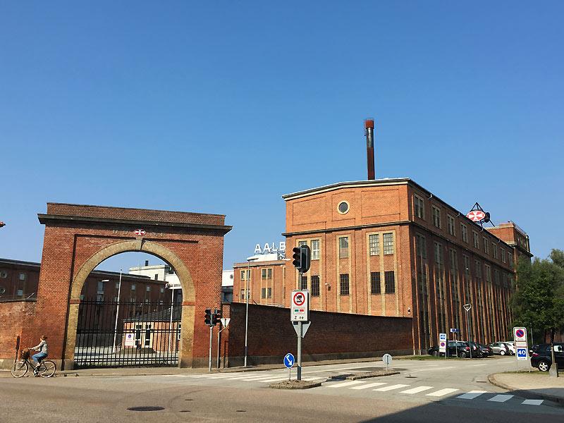 Indgang til Spritfabrikken i Aalborg