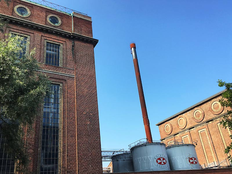Smukke detaljer på Spritfabrikken i Aalborg