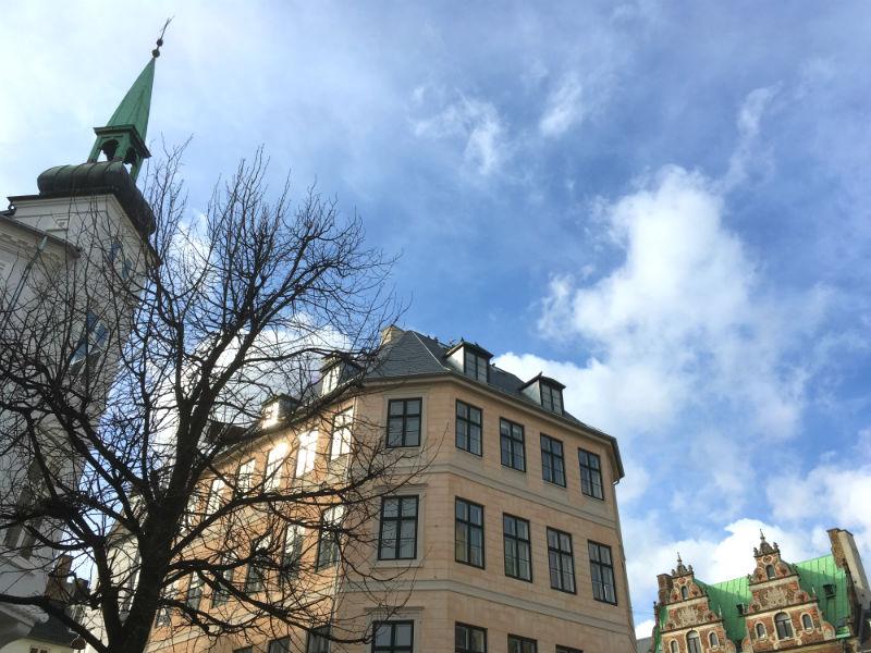 Detaljer fra Amager Torv i København