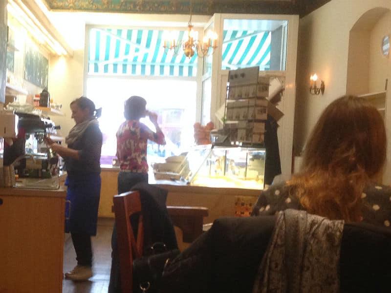 Caféen Krümel i Berlin