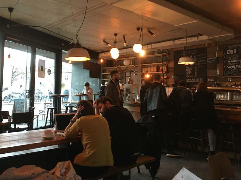 Caféen Kaschk i Berlin
