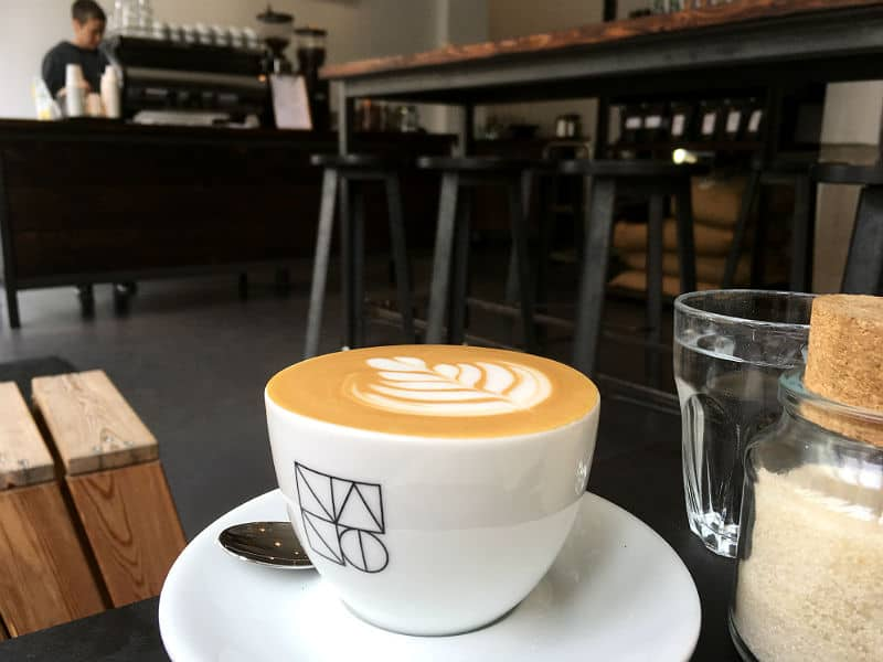 Kaffe på Nano Kaffee i Berlin