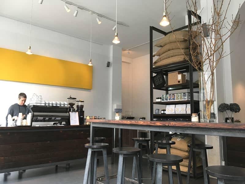 Nano Kaffee i Kreuzberg
