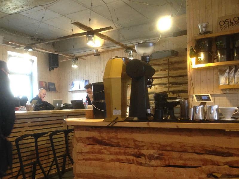 Osloer Kaffebar i Berlin