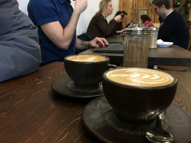 Osloer Kaffebar er en af de gode kaffebarer i Berlin