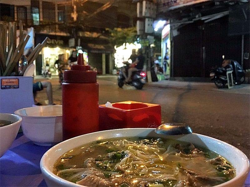 Dejlig vietnamesisk gademad