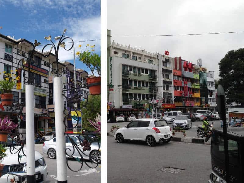 Byen Tanah Rata i Cameron Highlands i Malaysia