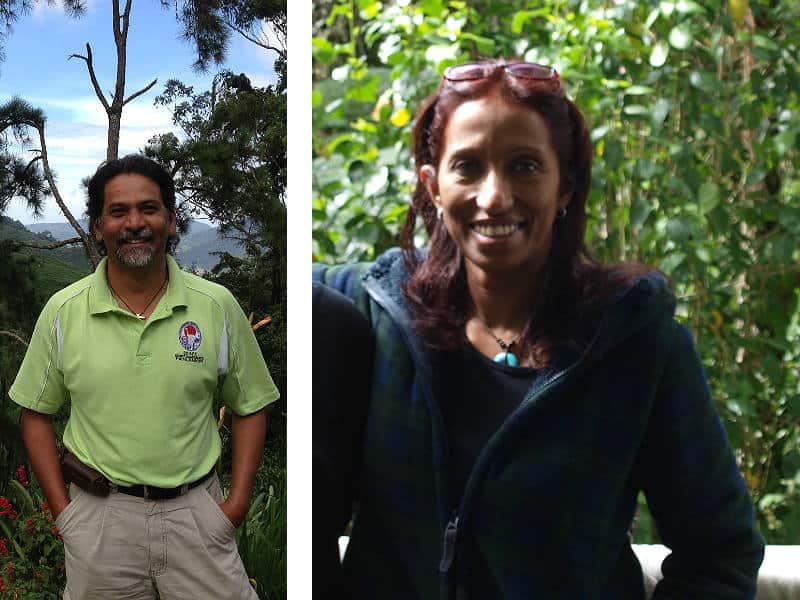 Raju og Jay i Cameron Highlands