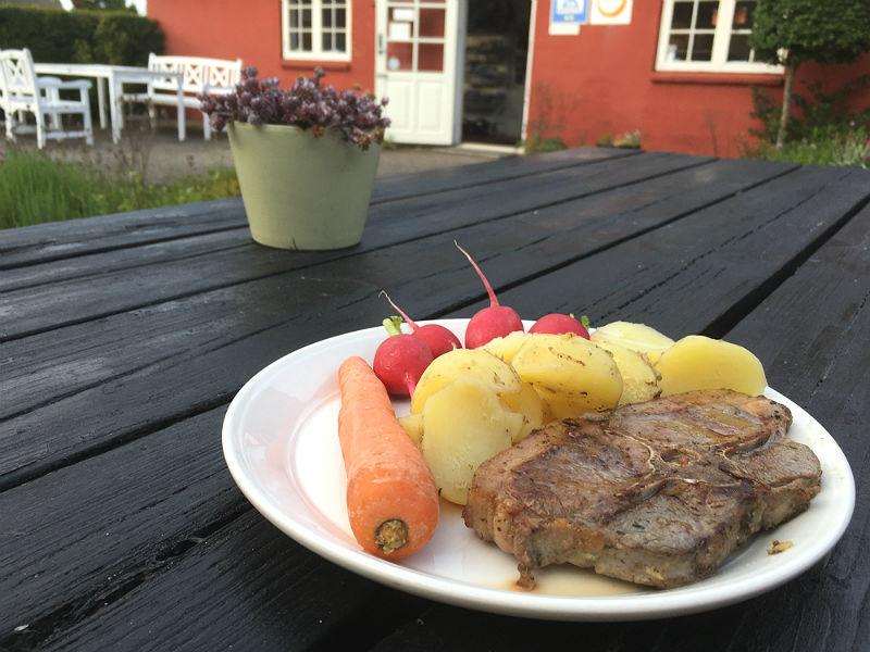 Hjemmelavet mad på Rømø Vandrerhjem