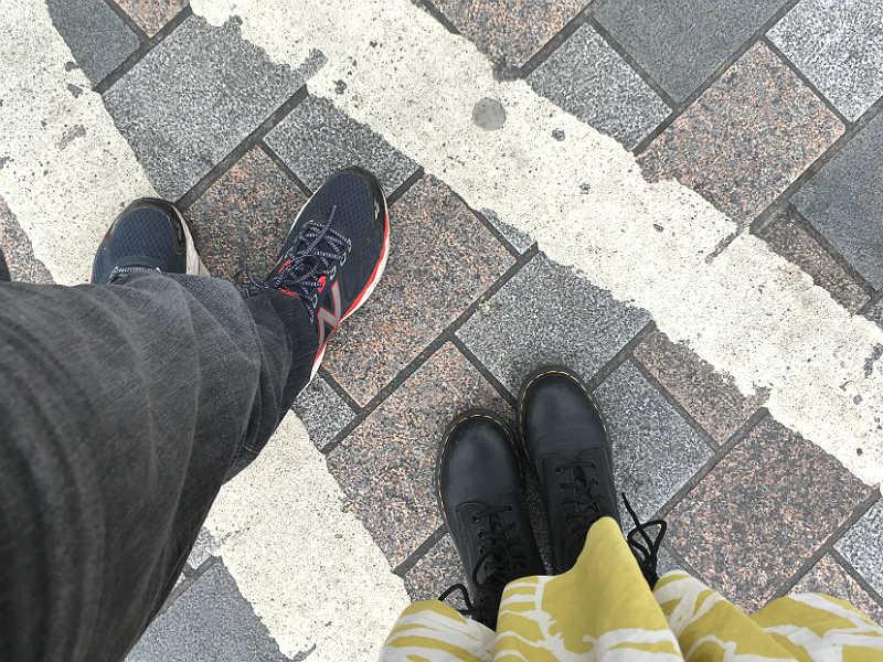 Tag kontrollen over dine fødder og gå langsomt - London uden stress
